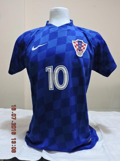 8b1a3a101a1c4 Camisa Idêntica Seleção Croata 2016 - R  49