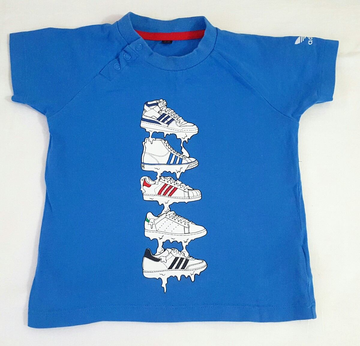 2396adabe2da4 camisa importada adidas infantil menino tamanho 12-18 meses. Carregando  zoom.