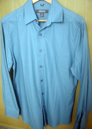 camisa importada eua kenneth cole adulto m fit style social