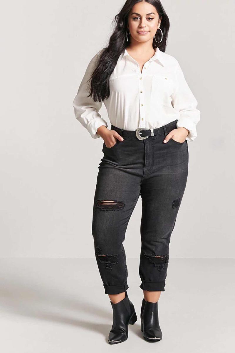0fc52bea4e0a5 camisa importada forever 21 plus size blusa blanca de usa. Cargando zoom.