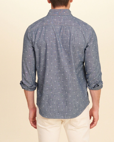 camisa importada hollister masculina social casual tamanh m
