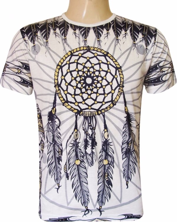 05ea181d66 Camisa Indiana - Blusa Hippie - Tenda Roots Roupas Indianas - R  60 ...