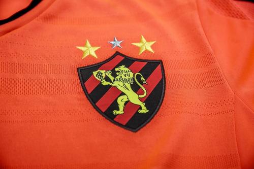 camisa infantil adidas sport recife 3 iii 2015 laranja