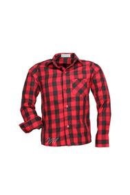 f01bf52b83 Camisa Camisao Xadres Vinho Infantil Tamanho 14 - Camisa Manga Longa ...