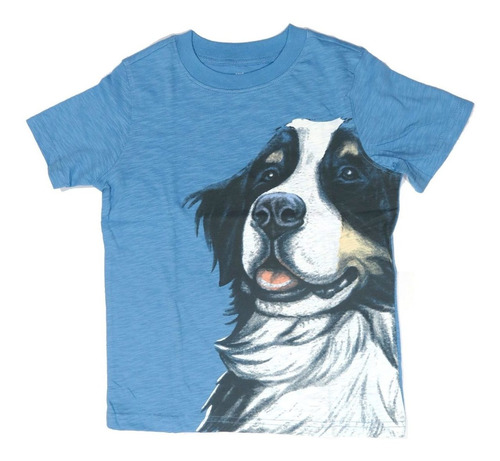 camisa infantil carter's azul 5 anos