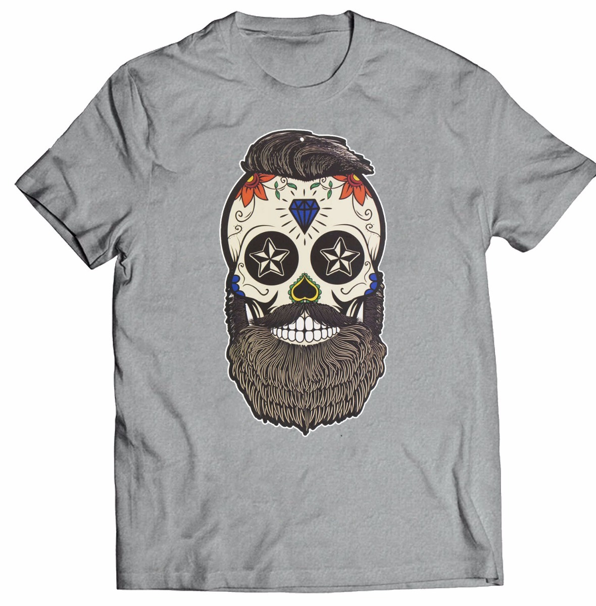 8ac408f94 camisa infantil caveira barbada camiseta caveira barba cd 0. Carregando  zoom.