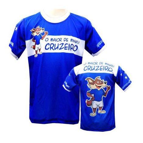 717dccc4da Camisa Infantil Cruzeiro - O Maior De Minas - R  29