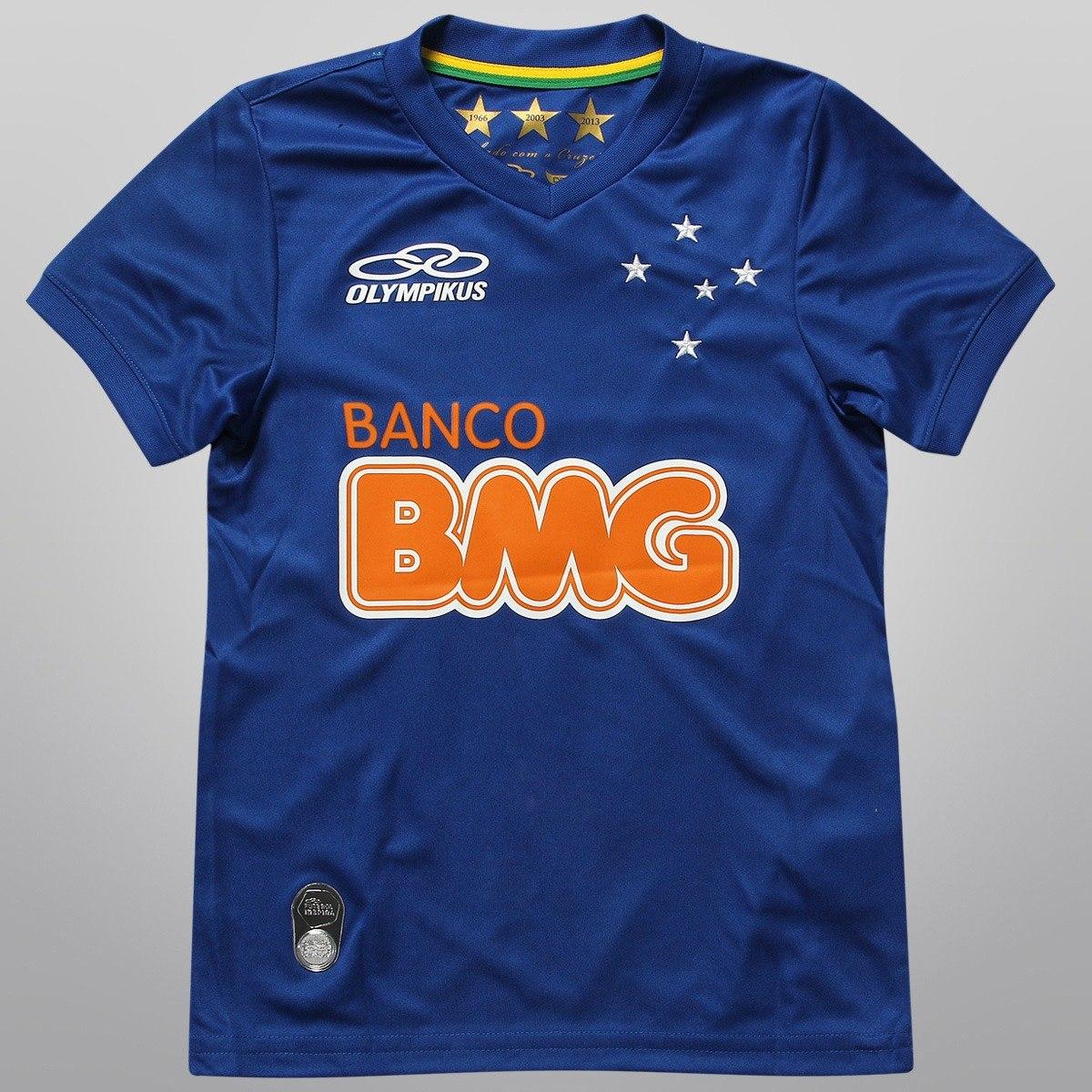 camisa infantil cruzeiro original 2014. Carregando zoom. 889e60d357d22