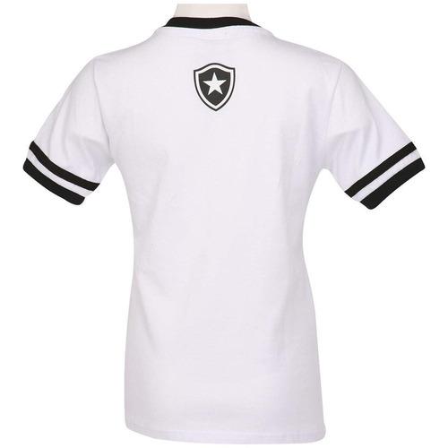 camisa infantil do botafogo rj oficial stamp escudo bordado