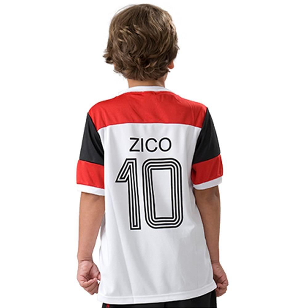 4cfd57027ff0f camisa infantil do flamengo oficial retro zico mundial 81 nf. Carregando  zoom.