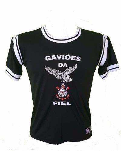 camisa infantil gaviões da fiel produto oficial