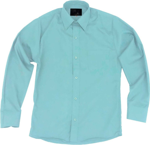 camisa infantil juvenil salidas escolares verde menta 2 a 16