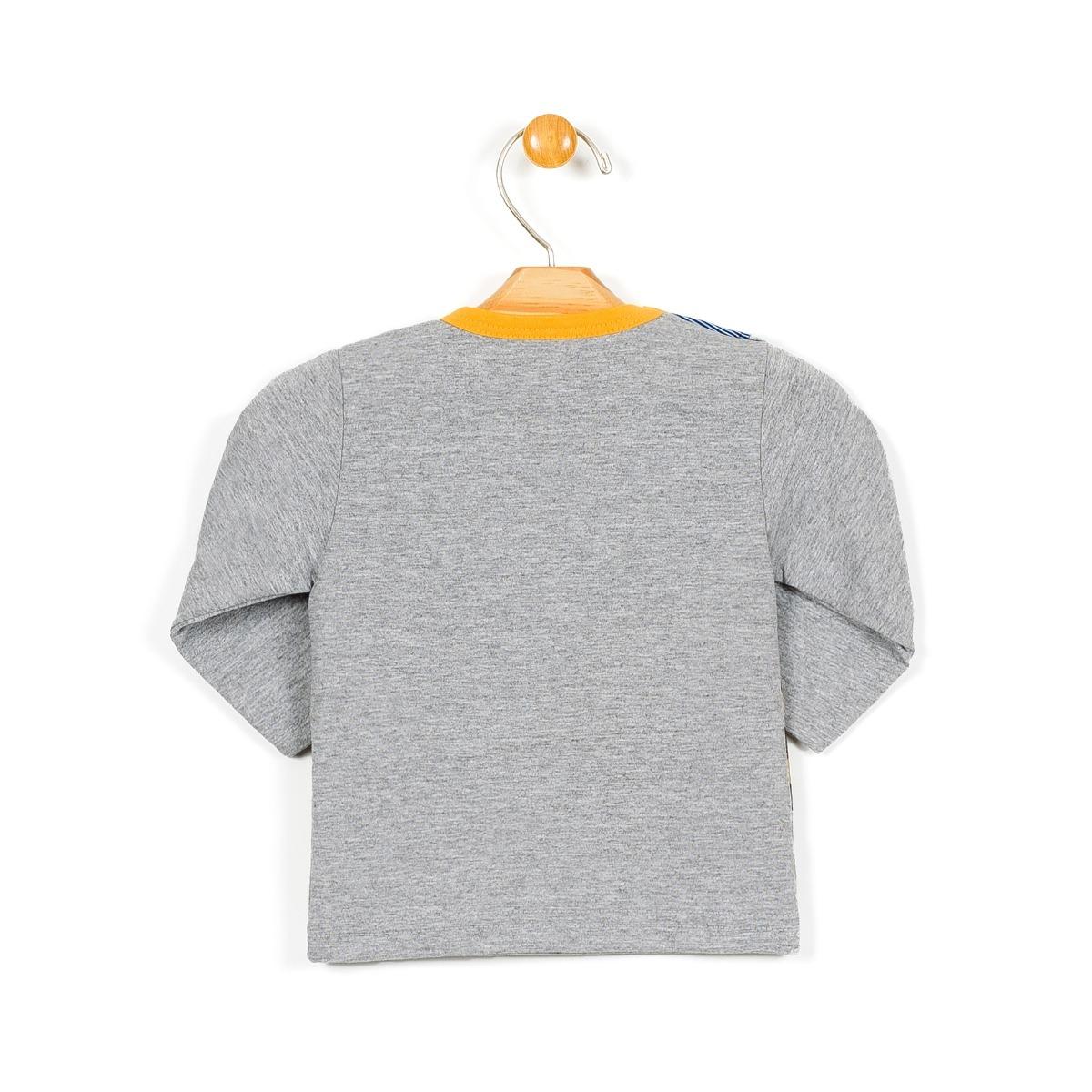 13ad2dd2e89af camisa infantil menino manga longa com babador tileesul10604. Carregando  zoom.