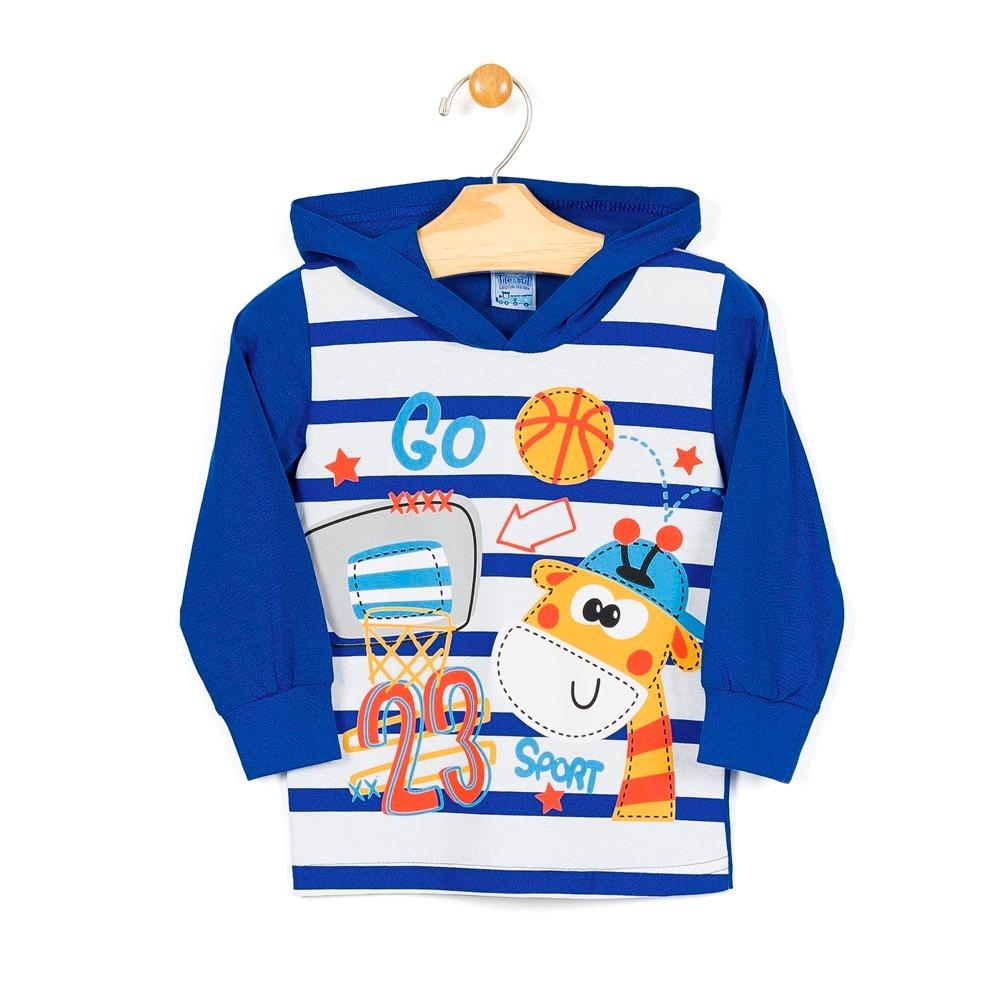 b4e20adeb2186 camisa infantil menino manga longa tileesul 10623. Carregando zoom.