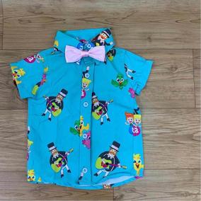 23194b21c3 Camisa Social Bebe 1 Ano - Calçados, Roupas e Bolsas com o Melhores ...