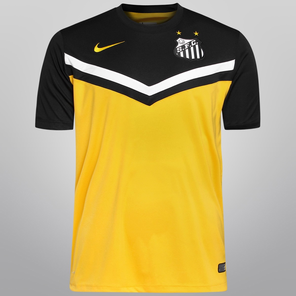 camisa infantil nike santos iii amarela 2014. Carregando zoom. 231652964c64c