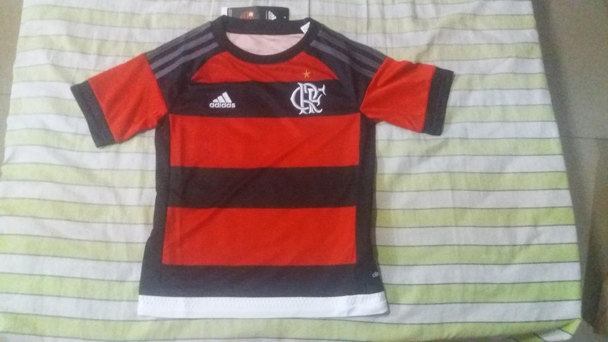 9ae0adf364 camisa infantil original flamengo adidas rubro-negra 2015. Carregando zoom.