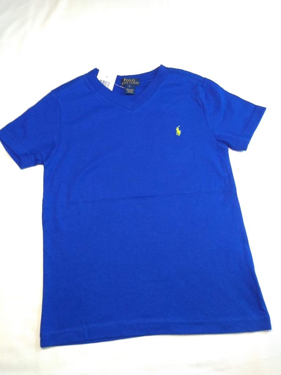 camisa infantil ralph lauren - tam 6 e 7. Carregando zoom. 765a1cb0b1a
