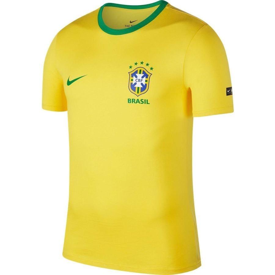 camisa infantil selecao cbf torcedor cotton nike original nf. Carregando  zoom. 6247fa5656c6c