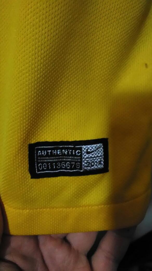 c434b4eedea20 camisa infantil seleção brasileira -cbf nike 2014 - tem nome. Carregando  zoom.