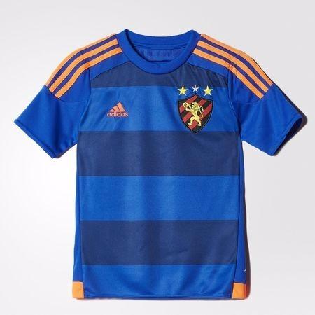 df3a42ff1 Camisa Infantil Sport Recife 3 Azul Original adidas- Footlet - R ...