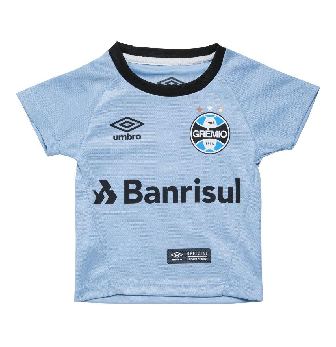 5e91831d8b Camisa Infantil Umbro Grêmio Oficial 2 2017 3g160099