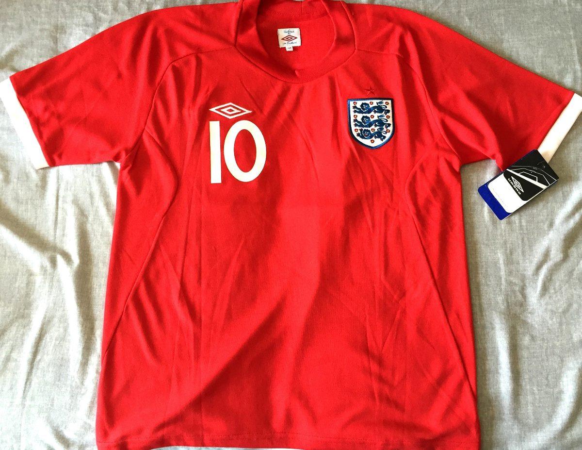 5f383888d8 camisa inglaterra 2008 10 rooney vermelha nova. Carregando zoom.