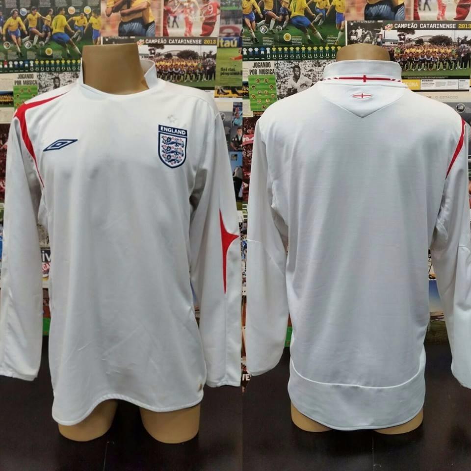 Camisa Inglaterra Branca - 2005 2007 - Umbro - Xl - R  139 e2ea7675523cb