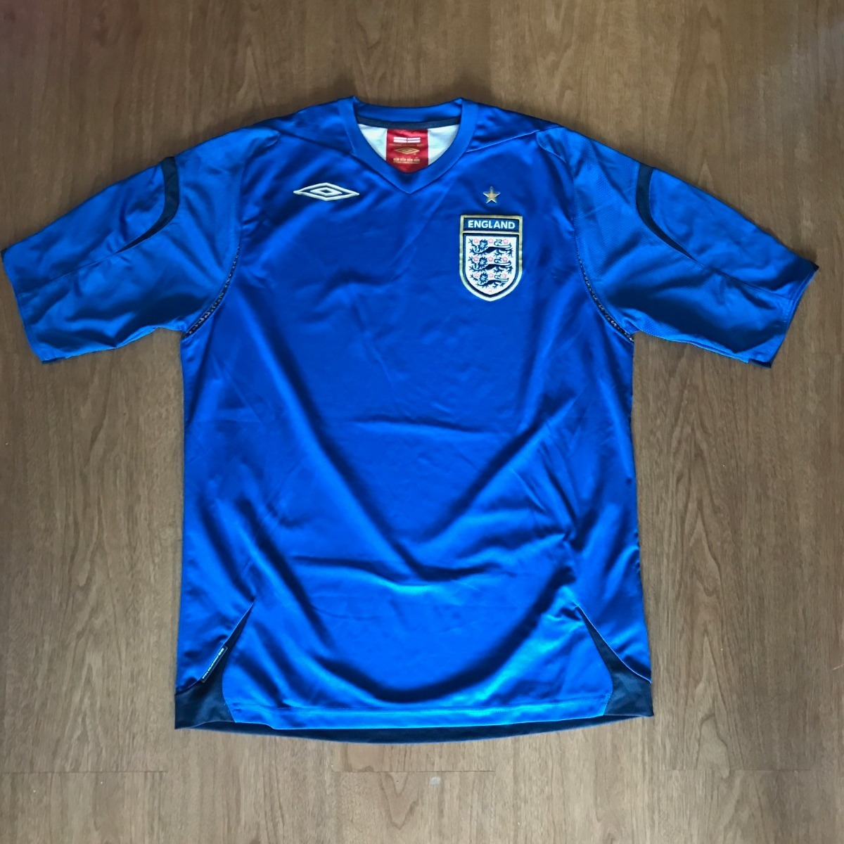 camisa inglaterra umbro goleiro temporadas 2006-2008 show. Carregando zoom. d19338bf5e955