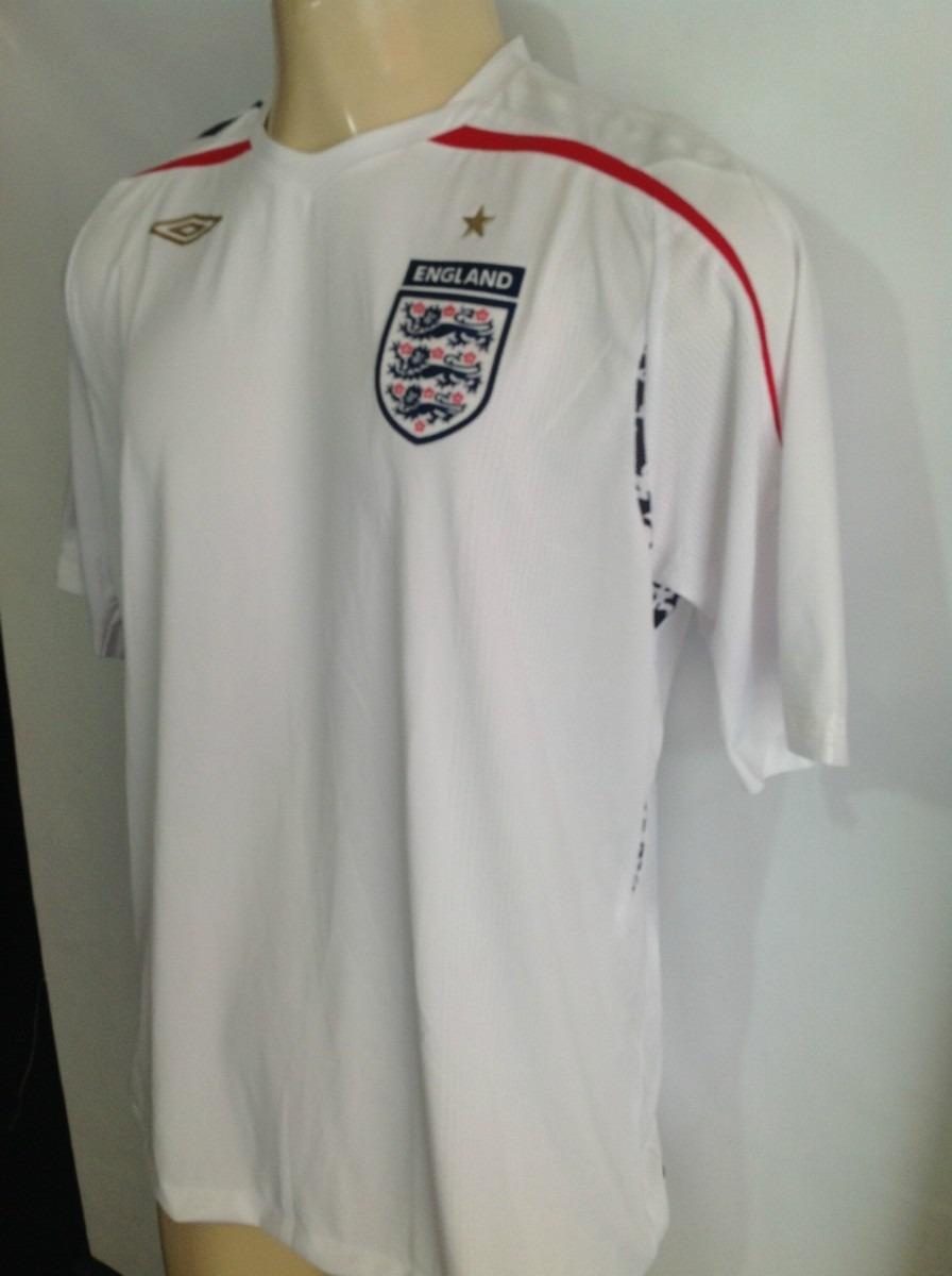 camisa inglaterra unif.1 umbro euro 2007 2008 austria suica. Carregando  zoom. c080b4ae94870