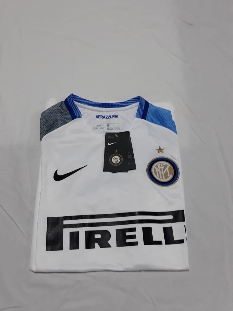 a32ea08367 Camisa Inter De Milão Branca 17 18 - Torcedor Nike Masculina - R ...