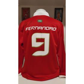 Camisa Internacional 2006 Mundial Fifa Fernandão Autografada