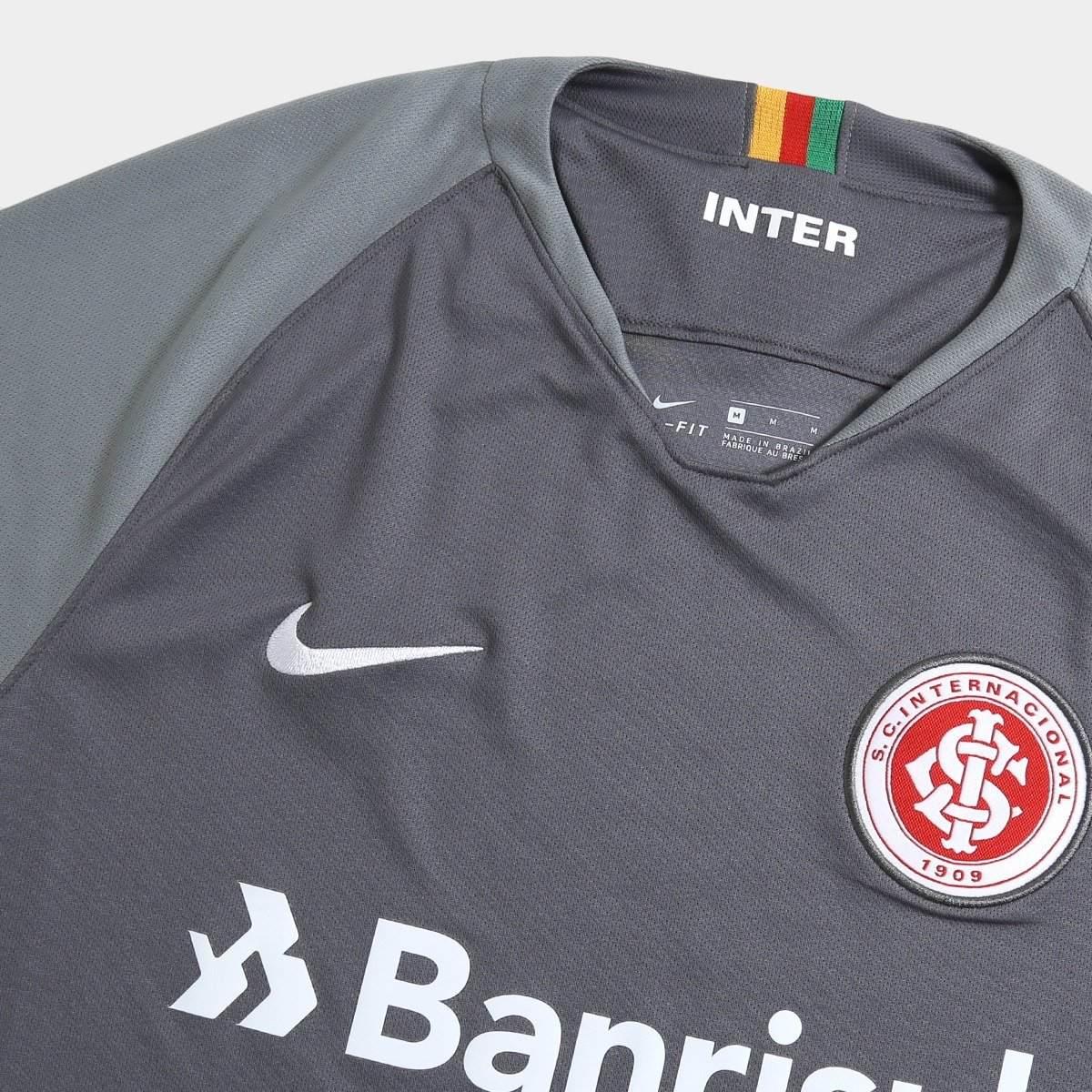 1953232d5b Camisa Internacional 2018 2019 Uniforme 2 Pronta Entrega - R  119