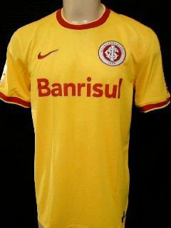 camisa internacional inter oficial 3 nike amarela 2014 copa