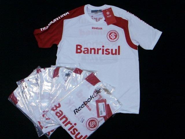 ad77174d043 Camisa Internacional Inter Treino Oficia Reebok Mundial 2010 - R ...