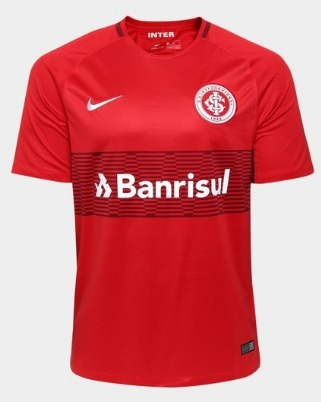 9a0398b3b8 Camisa Internacional - Uniforme I - 2017 - Nike - R  129