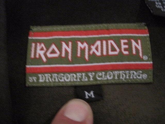 f3f488e8f19 Camisa Iron Maiden Dragonfly - Raridade! Oportunidade Única! - R ...
