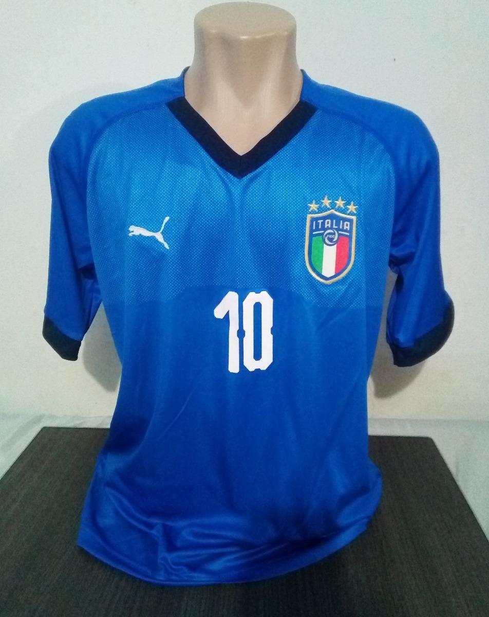 camisa itália 2018 -2019 azul supporter torcedor nova. Carregando zoom. aa2cc22863430