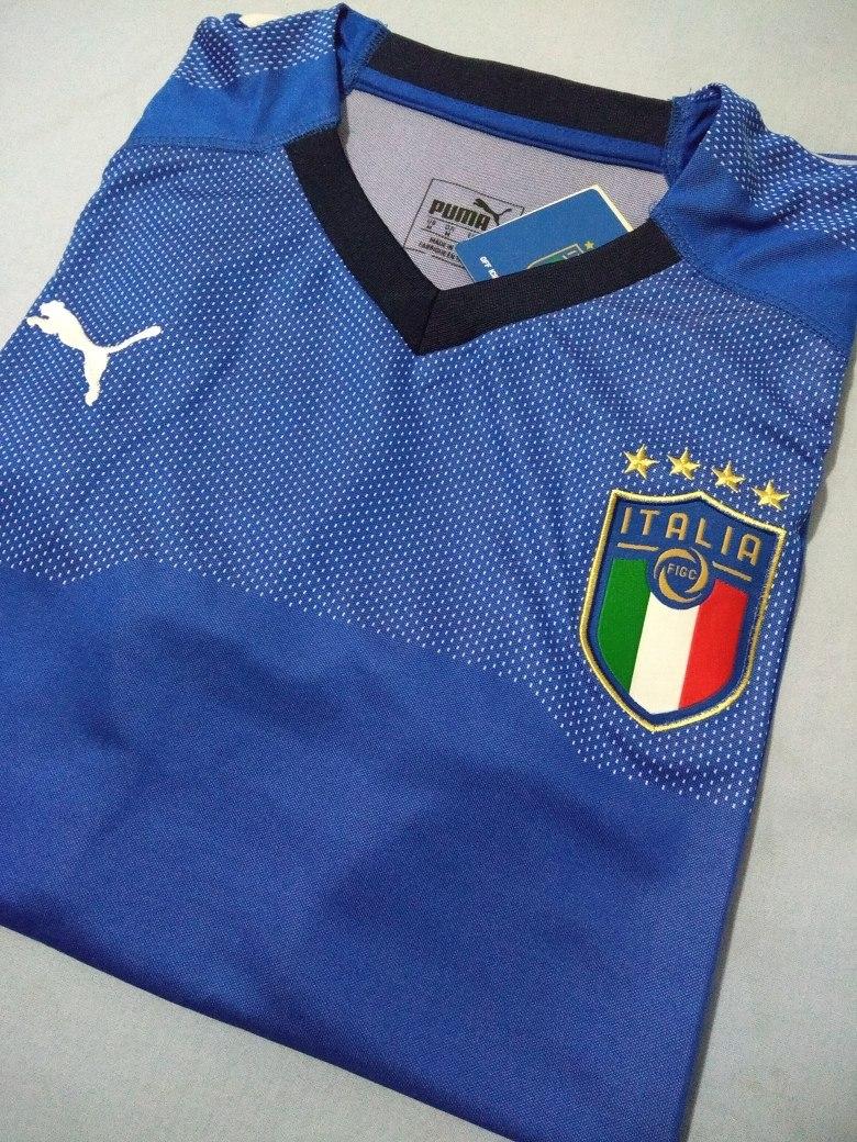 Camisa Itália 2018 Home (tam M) Pronta Entrega - R  129 60d74b351b709