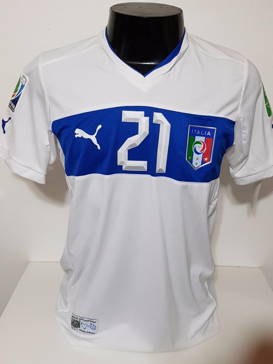 camisa itália away 10-11 pirlo 21 copa das confederações. Carregando zoom. b5e107797b4d8