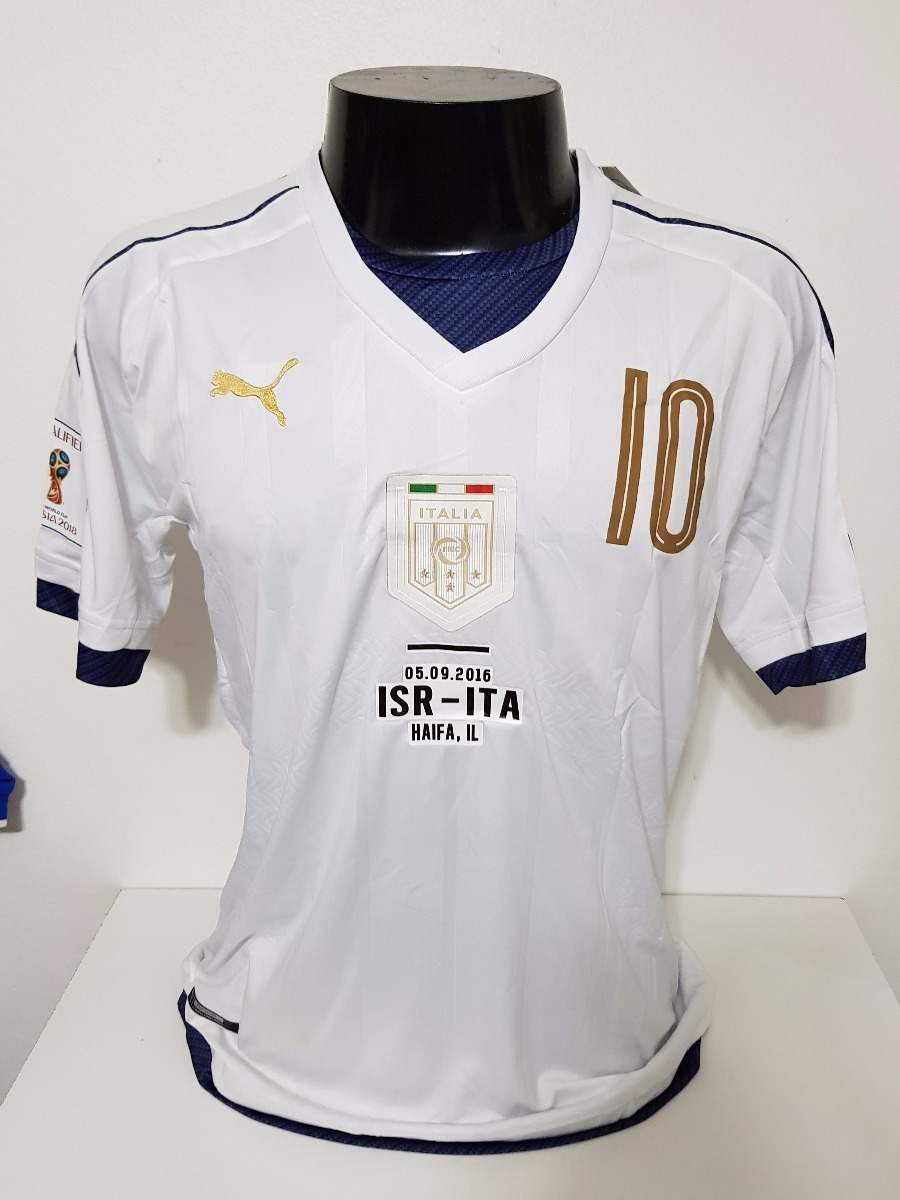 396d2327f3cc3 Camisa Itália Away 16-17 Verratti 10 Vs Israel Importada - R  150