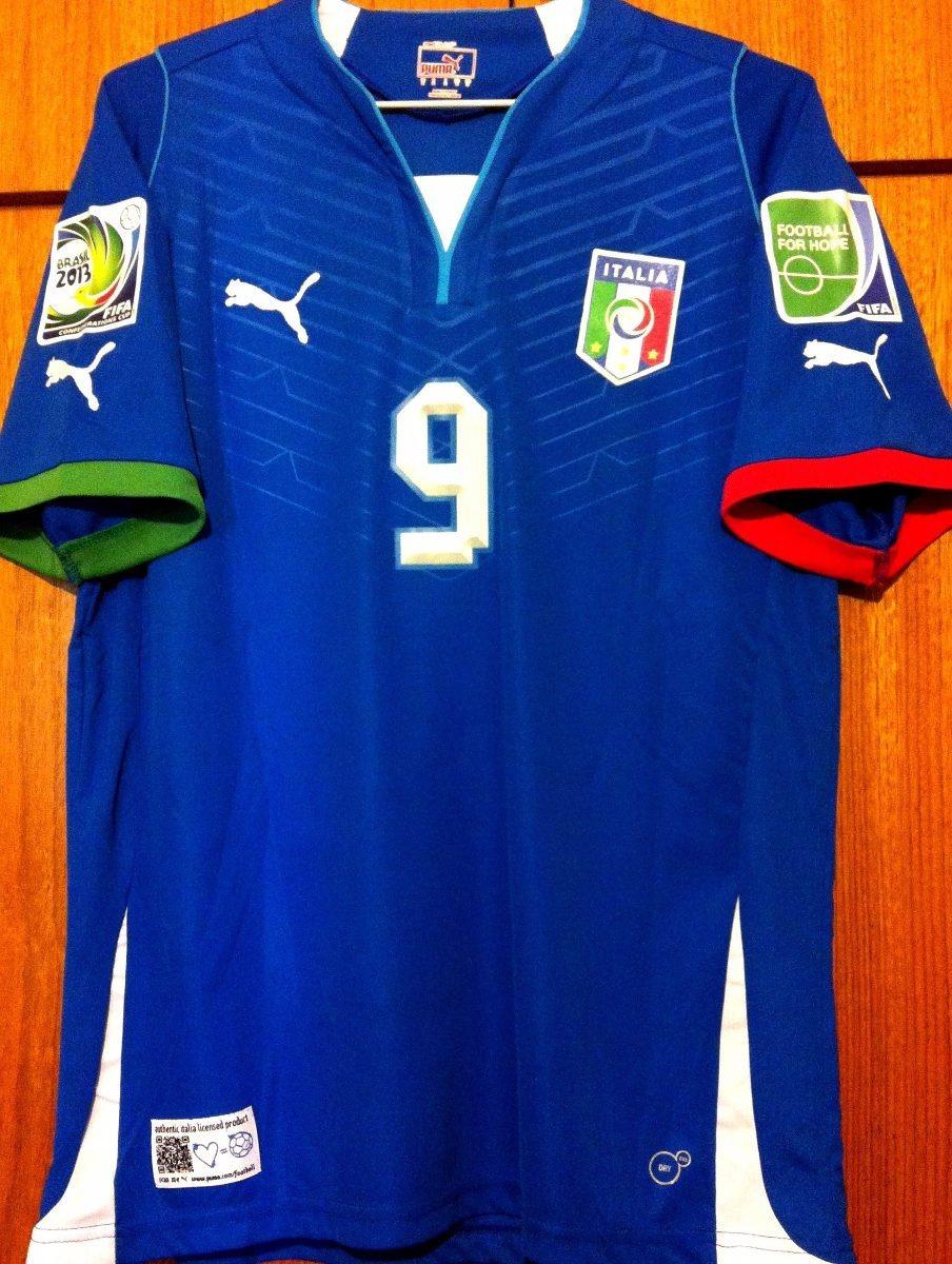 camisa itália copa das confederações 2013 balotelli  9. Carregando zoom. 2e23d85294410