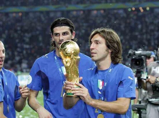 Camisa Italia Copa Do Mundo 2006 Pirlo 21 - R  299 ff58e699fbc7e