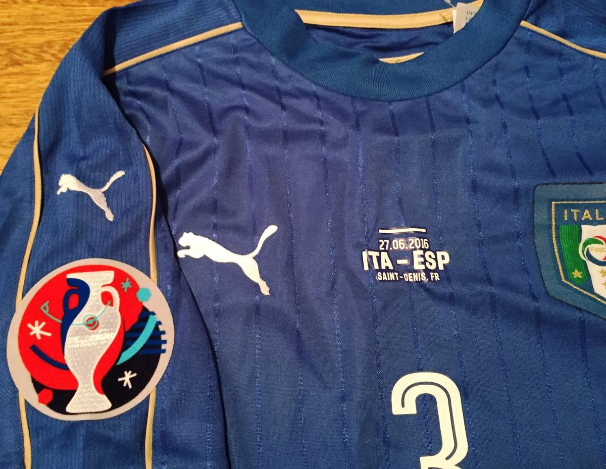 31e88c48b4 camisa itália euro 2016 chiellini vs espanha completa. Carregando zoom.