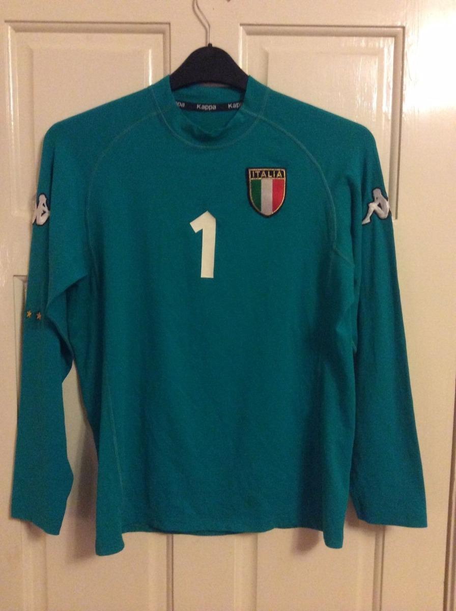 camisa italia goleiro kappa buffon euro 2000 2002 belgica. Carregando zoom. ee75696950b5d