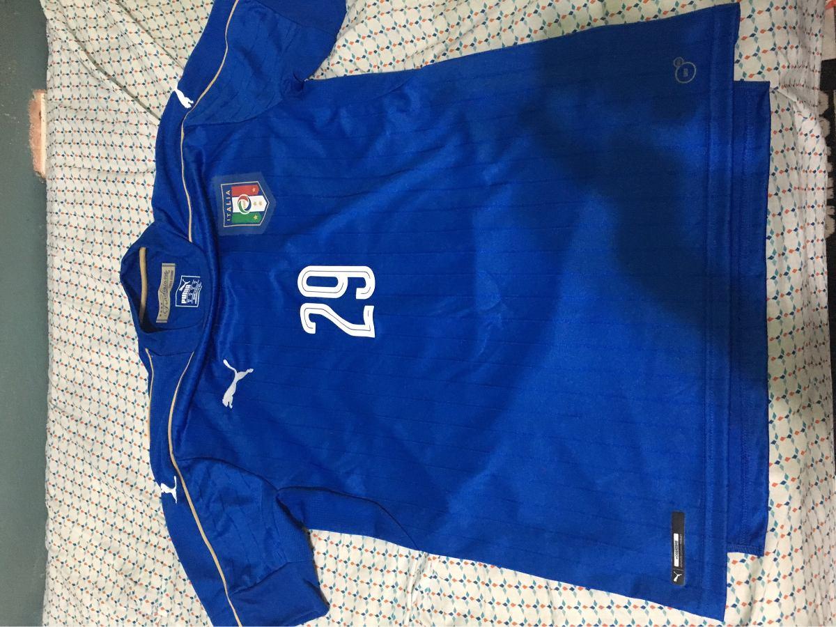 camisa itália home 2016 puma authentic  29 bernardeschi m. Carregando zoom. 9ab2571226e4a
