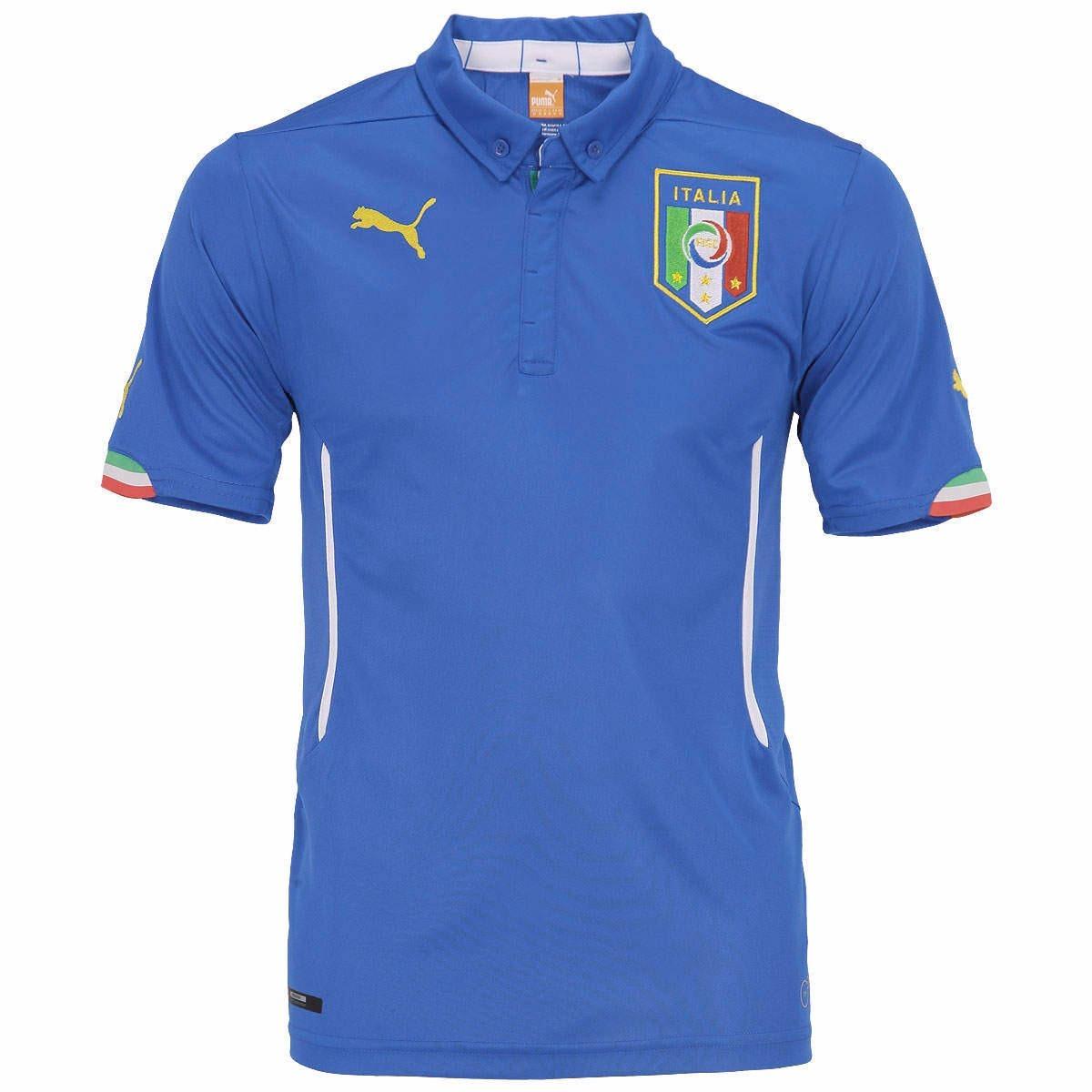 d58c9c1dc8c76 Camisa Itália I 2014 - Copa Do Mundo - Frete Grátis - R  239