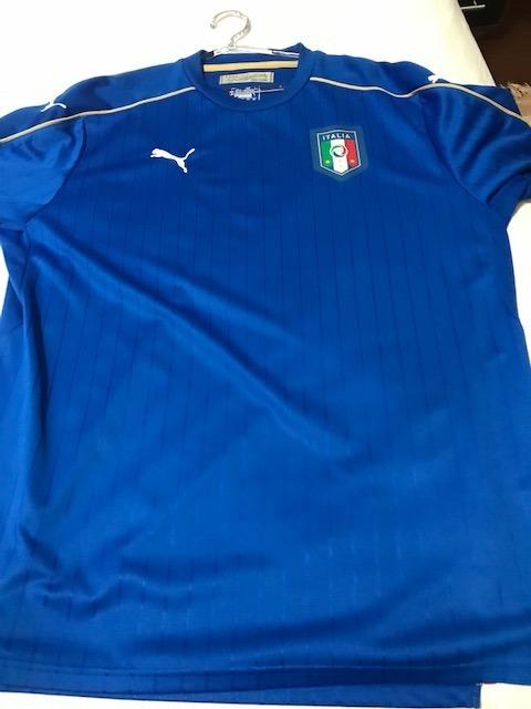 Camisa Itália I 2016 Puma - Masculina Xxl - R  109 5ae60ebb2827c