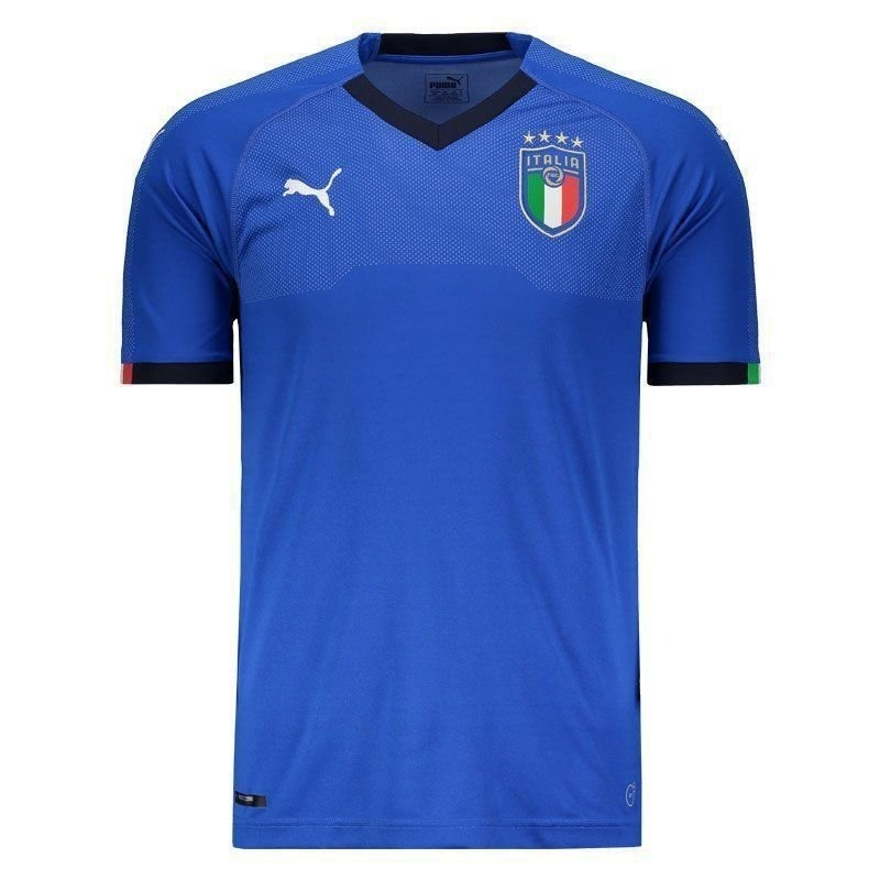 camisa itália oficial puma 2018 frete grátis. Carregando zoom. 60c5feeb9a136