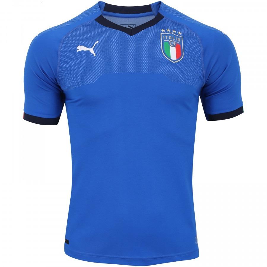 camisa itália uniforme 1 - 2018 original frete grátis. Carregando zoom. e5b2c0bc32fcc
